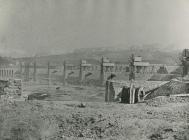 Penarth Docks under construction
