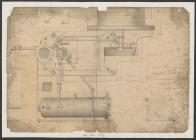 Ground plan of 19 inch engine on Boulton and...
