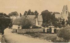 Llandough Village.
