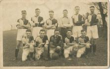 Llandough Football Team.