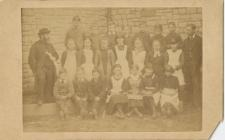 First Class in Llandough Church School, 1884.