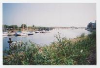River Ely, Penarth in 2003.