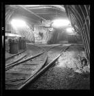 Underground junction at Taff Merthyr Colliery
