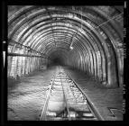 Underground roadway at Taff Merthyr Colliery
