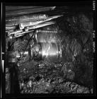 A shearer at Taff Merthyr Colliery