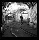Underground roadway at Lewis Merthyr Colliery