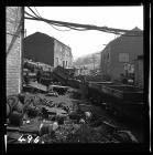 Empty drams at Graig Merthyr Colliery