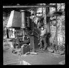Blacksmith's shop at Bargoed Colliery