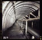 Conveyor at Taff Merthyr Colliery