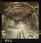 Underground roadway at Merthyr Vale Colliery