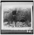 Demolition of furnaces at Blaenavon Ironworks