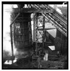 Blast furnace at Brymbo steelworks