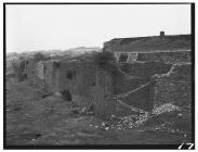 Retaining wall at Dowlais Ironworks