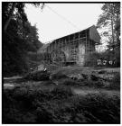 Charging house at Dyfi furnace