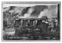 Ebbw Vale Blast Furnaces postcard