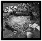 Masonry remains at Garnddyrys forge