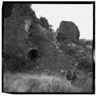 Blast furnace ruins at Hirwaun Ironworks