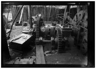 Flywheel shaft at Kidwelly tinplate works