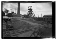 Mine yard at Llanharry Iron Ore Mine
