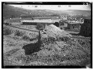 Blast furnace at Llynfi Ironworks