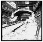 Demolition at Newport Tube Works