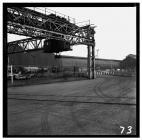 Stockyard gantry crane at Newport Tube Works