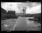 Coedcae shaft and engine house at Lewis Merthyr...