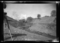 Locomotive at Graig Merthyr Colliery