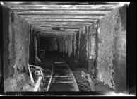 Underground roadway at Graig Merthyr Colliery
