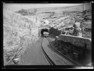 Entrance to the drift mine at Graig Merthyr...