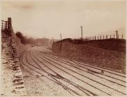 Storage sidings at Trefforest on the Barry railway