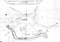 Abergynolwyn old plan