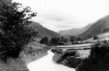 The old road into Abergynolwyn