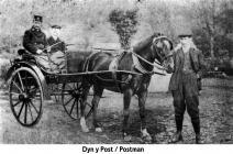 Abergynolwyn postman