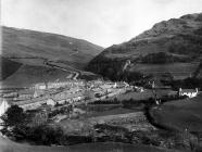 Abergynolwyn, village and incline
