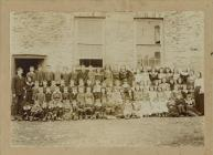 Children of Cwmystwyth Board School 1902-1903