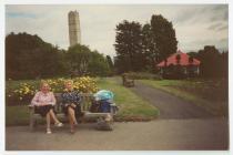 Alexandra Gardens and Bandstand, Penarth.