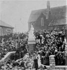 New Tredegar, Cenotaph, unveiling