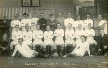 Swansea Town Football Club Team Photo 1914-1915.
