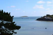 The View of St Tudwals Island from Abersoch
