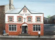 The half moon, Pontypridd