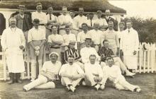 Abergavenny CC team c.1900