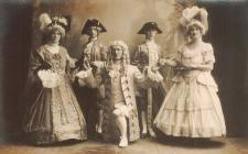 Actors of the Aberystwyth Amateur Operatic and...