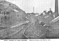 New Tredegar, Colliery, Landslip