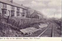 New Tredegar,Colliery ,Landslip