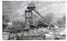 Lanndslip at New Tredegar Colliery