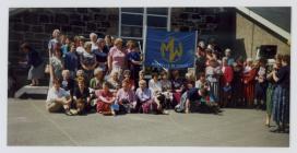 Pembrokeshire Area Members celebrate the...