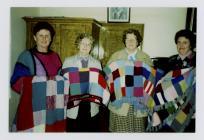 Merched y Wawr Tegryn Branch knitting