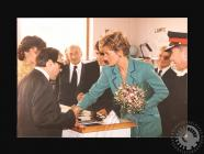 Photograph of HRH Princess of Wales at the...