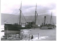 Steamship DORA anchored in Barmouth
